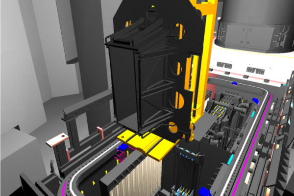 NBRHS VR simulation Exit Scraper replacement (ITER) · Heemskerk